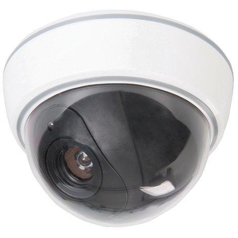 Caméra de surveillance factice dôme avec LED - 3 x AA