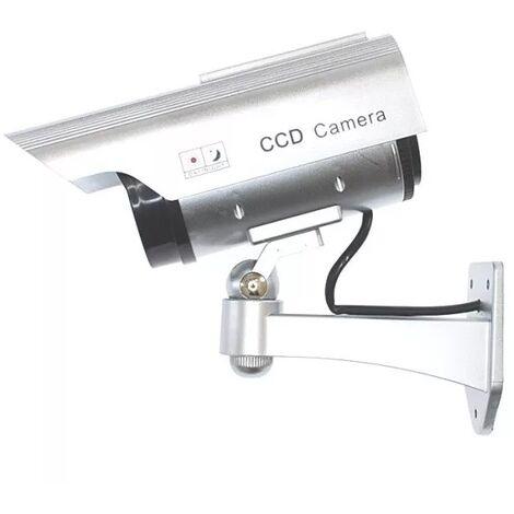 Caméra de surveillance factice (leurre) DC2 solaire