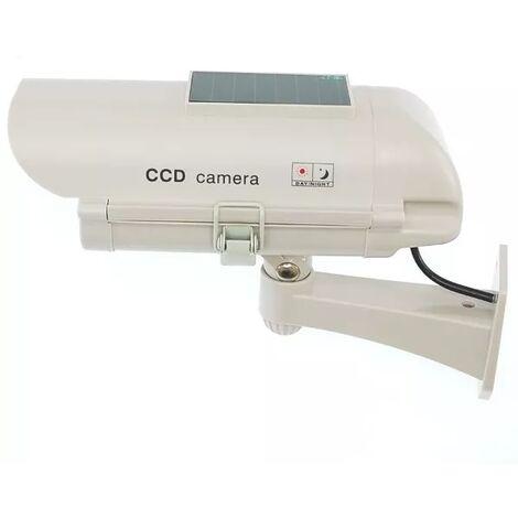 Caméra de surveillance factice (leurre) DC23 solaire