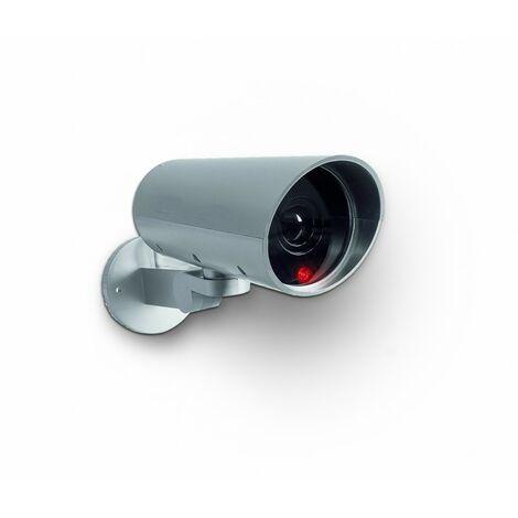 Caméra De Surveillance Factice Motorisée À Detection De Mouvement