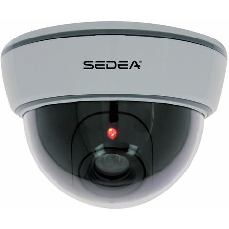 """main image of """"Caméra de surveillance factice type dôme avec Led clignotante - SEDEA - 550980"""""""