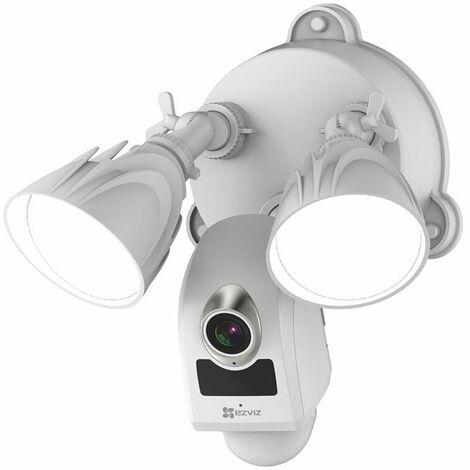 Caméra de surveillance intelligente domestique, éclairage de jardin 1080p LC1C, moniteur domestique extérieur, maison de vision nocturne étanche, prise standard