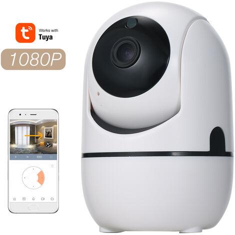 Camera De Surveillance Ip 1080P, Prise En Charge De La Vision Nocturne / Interphone Audio A Deux Canaux / Surveillance A Distance App