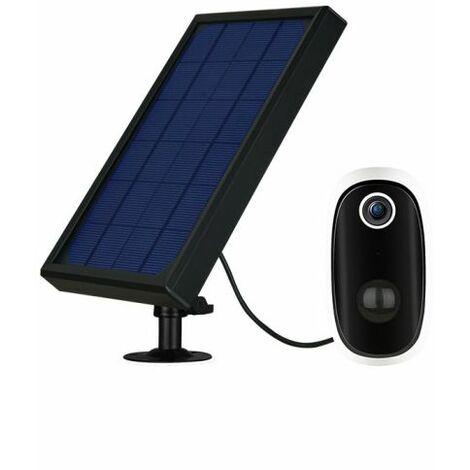 """main image of """"Caméra de Surveillance sans fil WiFi + Panneau Solaire + Batterie Rechargeable 6000mA DIOD"""""""