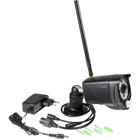 Caméra de surveillance Technaxx TX-145 4881 Wi-Fi, Ethernet, sans fil, filaire IP-1 canal 1920 x 1080 pixels 1 pc(s)