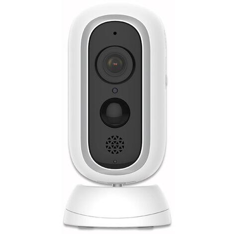 """main image of """"Caméra de Surveillance WiFi sur Batterie Rechargeable Caméra Surveillance sans Fil 1080P Extérieure Intérieure PIR Détection Humaine Audio Bidirectionnel Étanche"""""""