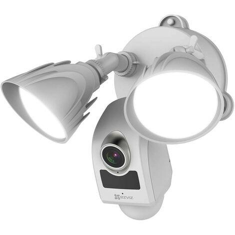 Ezviz - CS-LC1-A0-1B2WPFRL - Caméra extérieure avec projecteur LED et sirène