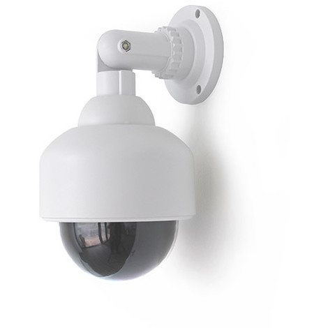 Caméra dôme factice avec voyant lumineux