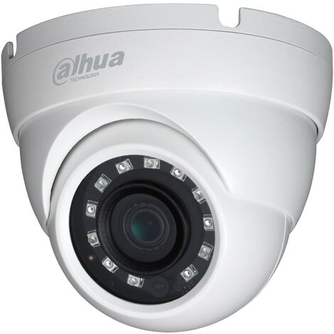 Caméra dôme infrarouge 1080p HDCVI IR 30m - Dahua - {couleurs}