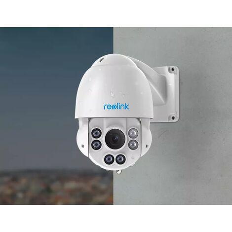 Caméra Dôme Reolink RLC-423 (PoE & DC12V / ZOOM Optique 4X / PTZ / Super HD 5MP / IP66 / Nocturne 60m)