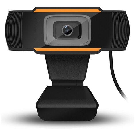 Camera d'ordinateur USB 720P HD Microphone externe Plug and play sans pilote GF1