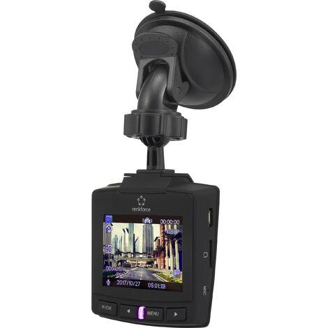 Caméra embarquée + GPS Renkforce RF-DC-1G avec écran, batterie, microphone S448571
