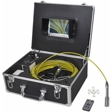 Camera endoscopique pour canalisation avec DVR enregistrement video