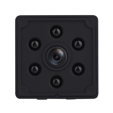 Camera Espion, 4K HD Mini Camera Surveillance WiFi Interieur Longue Durée de Vie de La Batterie Caméra de Surveillance sans Fil Spy Cam Vision Nocturne Détection de Mouvement Micro Camera