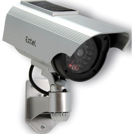 Caméra factice solaire Extel - Dimy 320 - Gris