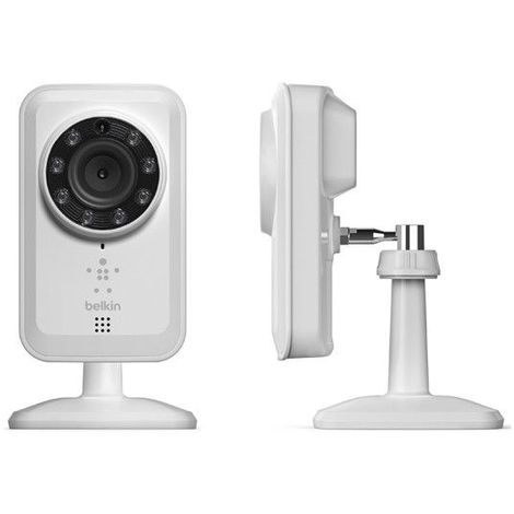 Caméra fixe WIFI Haute Performance BELKIN - Blanc