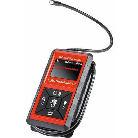Camera inspection Rothenberger Roscope kit mini Tete de camera 8,5mm