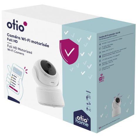 Caméra intérieure rotative connectée full HD - Otio