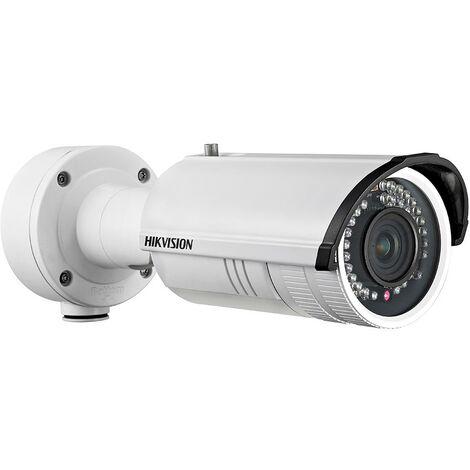 Caméra IP bullet varifocale zoom infrarouge 30m - 4MP - Hikvision - Blanc