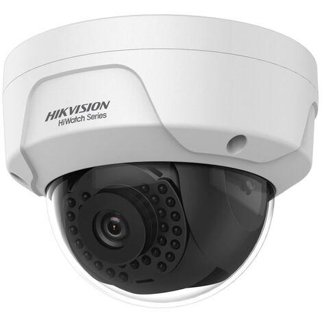 Caméra IP dôme 4MP IR 30 m HWI-D141H-0600 - Hikvision - Blanc