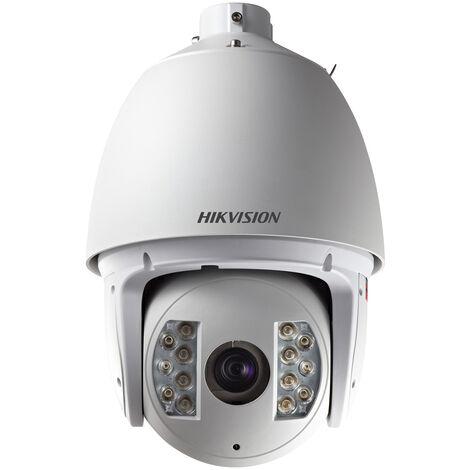 Caméra IP dome PTZ HD infrarouge 150m - 1.3 Mp - Hikvision - Blanc