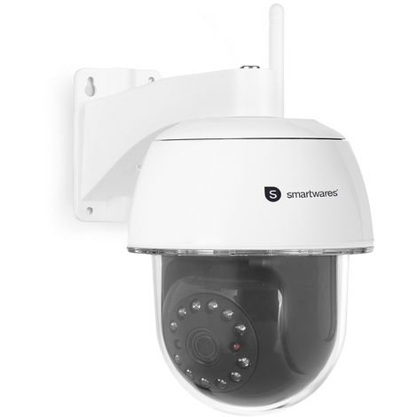 Caméra IP Smartwares C994IP Dome – 1080p Full HD – Avec application gratuite – Jusqu'à 128 Go – Pan/Tilt