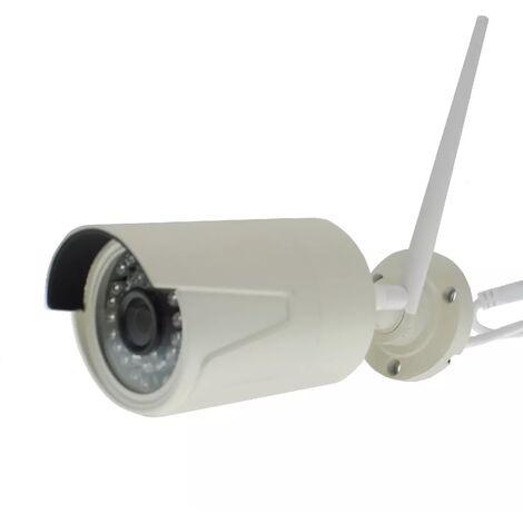 Caméra IP (WIFI) extérieure EW8 application dédiée et enregistrement - 960p / Lentille 3.6mm / Vision nocturne 30 mètres