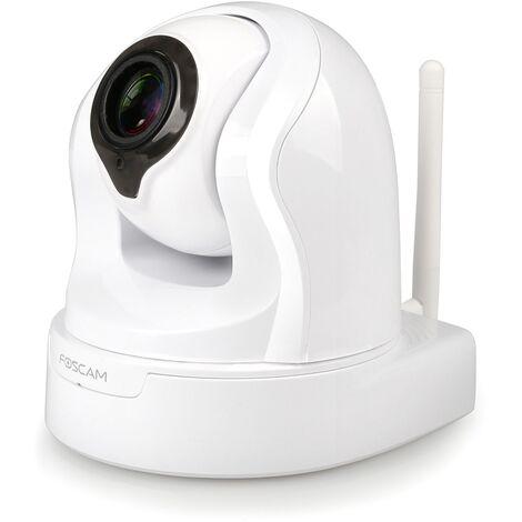 Caméra IP wifi intérieure motorisée 2MP - FI9926P Foscam - Blanc