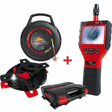 Camera multi-usages RC2-30M cable +enrouleur cable Powerrex 30m