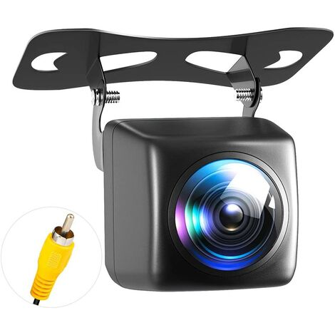 Camera Recul Voiture, Imperméable à l'eau HD Night Vision Caméra de Recul et 170 Degrés Grand Angle Antichoc Vision Nocturne