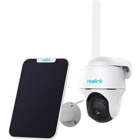 Caméra Reolink GO PT + Panneau solaire (4G LTE / Batterie / Pan & Tilt / Full HD 1080P / IP64 / Nocturne 10m)