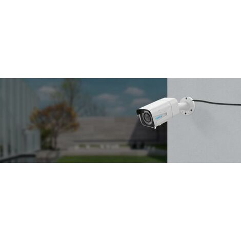 Caméra Reolink RLC-511 (PoE & DC12V / ZOOM Optique 4X / Super HD 5MP / IP66 / Nocturne 30m)