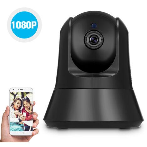 """main image of """"Camera Sans Fil 1080P Camera Ip Wifi Accueil Securite Surveillance Baby Elder Pet Nanny Surveillance Tf Enregistrement Pan / Tilt Deux Voies Audio De Vision Nocturne De Detection De Mouvement"""""""