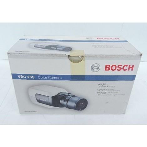 Caméra vidéo couleur compacte resolution 540 lignes fixe BNC alim 12V/24V (non incl) pour vidéoprotection BOSCH VBC-255-11