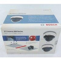 Caméra vidéo couleur IP intérieure Ø 135mm avec objectif fixe et bloc d'alim 12V Mini-dôme série 200 BOSCH NDC-255-P