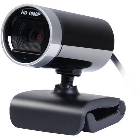 caméra Web USB PC Full HD 1080P,Webcam 1080P avec Microphone et couvercle de confidentialité