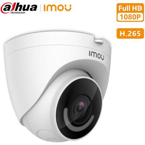 Camera Wifi Sans Fil Dahua 1080P 2 Millions Hd Ip67 Etanche, Projecteur Et Sirene Integres