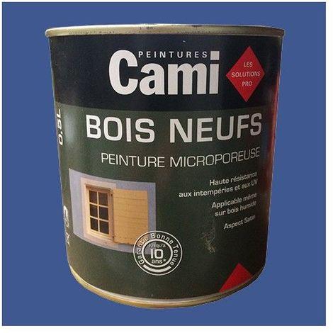 CAMI Peinture Glycéro BOIS NEUFS Bleu outremer - 0,5 L
