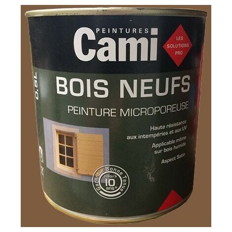 CAMI Peinture Glycéro BOIS NEUFS Ton bois - 0,5 L