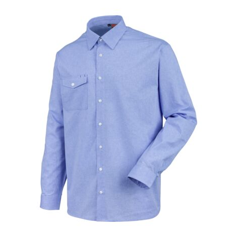 newest be9cf 94efe Camicia manica lunga in tessuto Chambray