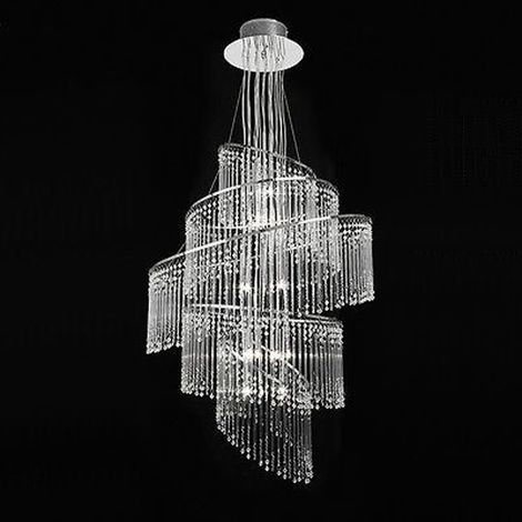 Camille pendant - clear glass