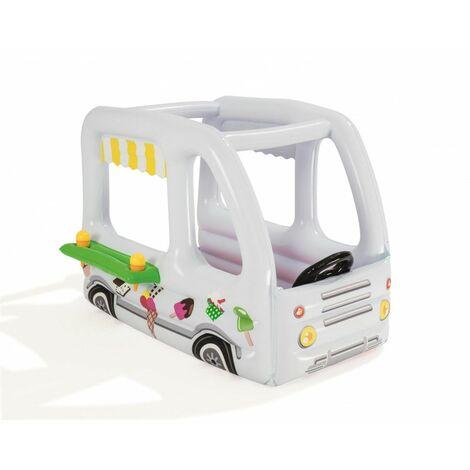 Camion de glacier gonflable - Piscine à balles - L 122 cm x l 84 cm x H 84 cm