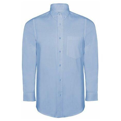 """main image of """"Camisa de hombre con bolsillo en pecho OXFORD CM5507"""""""