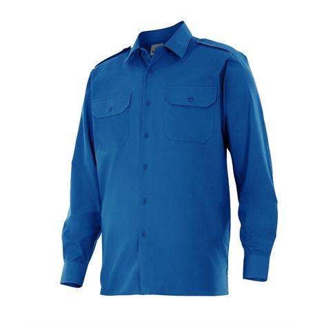 Camisa de manga larga con galoneras Serie 530