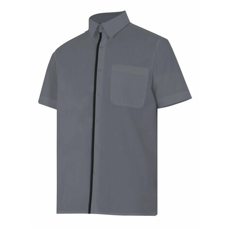 Camisa gris de manga corta Serie P531