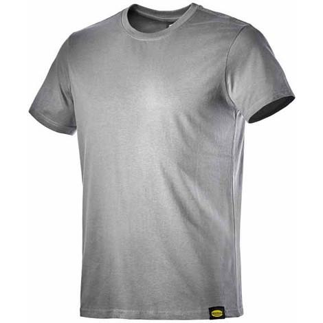 Camiseta Algodon Manga Corta Gris Xxl - DIADORA - Atony Ii