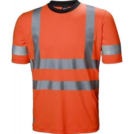 Camiseta alta visibilidad ADDVIS Talla L Naranja HV