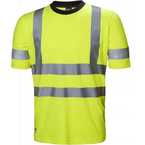 Camiseta alta visibilidad ADDVIS Talla S amarillo HV