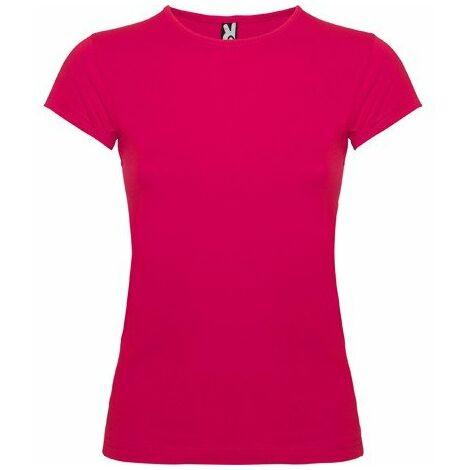 Camiseta de manga corta con cuello fino ribeteado BALI CA6597