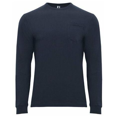 Camiseta de manga larga con cuello redondo CA12190155